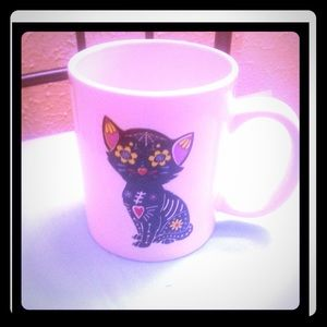 Accessories - Day of the dead cat cup